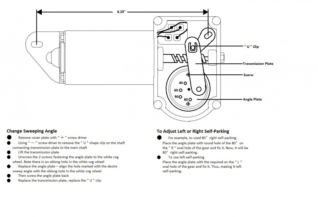 technical information Sprague Wiper Motor Wiring Diagram